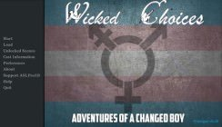 Wicked Choices: Adventures of a Changed Boy - V0.1.5